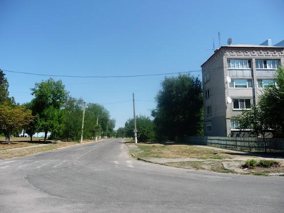 Васильківка. Вулиця Спортивна