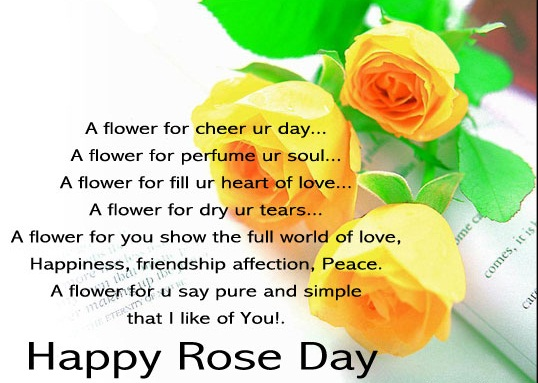 Happy Rose Day Facebook SMS in Hindi