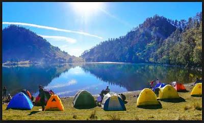 wisata camping danau ranu kumbolo