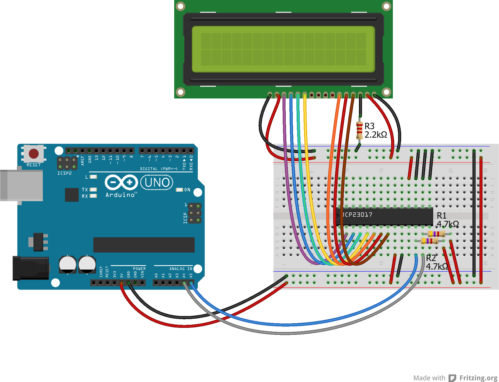 Arduino Lcd Wiring Diagram Corvette Keypad Shield Schematic Get Free Image About