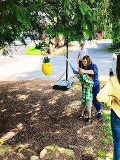 Lemon Themed Mother's Day Party @michellepaigeblogs.com