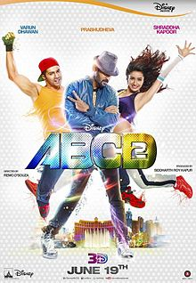 'ABCD - Any Body Can Dance - 2' Movie 'Chunar' Song Lyircs