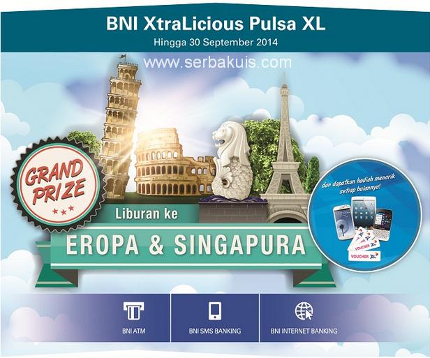 Promo BNI XtraLicious Berhadiah 3 iPad Mini