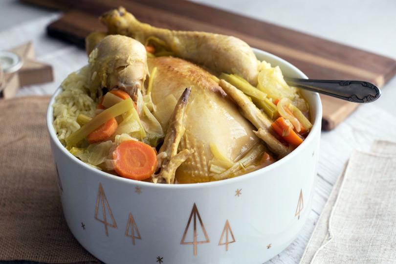 recette poule au pot