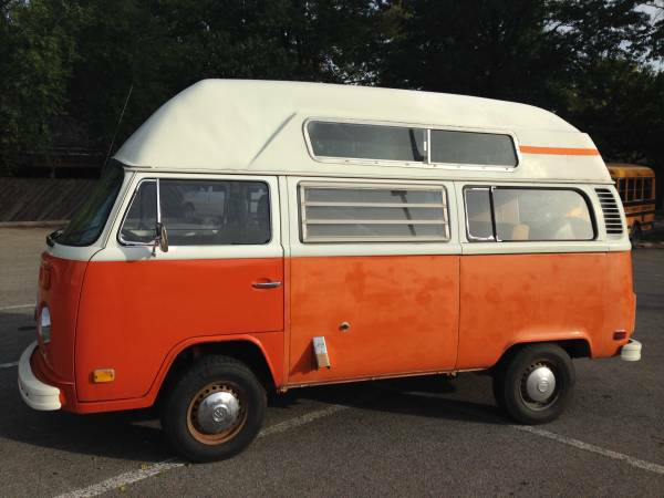 Daily Turismo: Max Headroom: 1974 Volkswagen Type 2 High Top