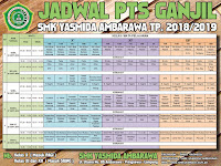 Desain Jadwal PTS Ganjil SMK Yasmida Ambarawa