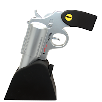 WineOvation tire-bouchon électrique pistolet silver