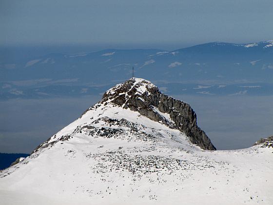 Wielki Giewont (1894 m n.p.m.) - główny szczyt masywu Giewontu.