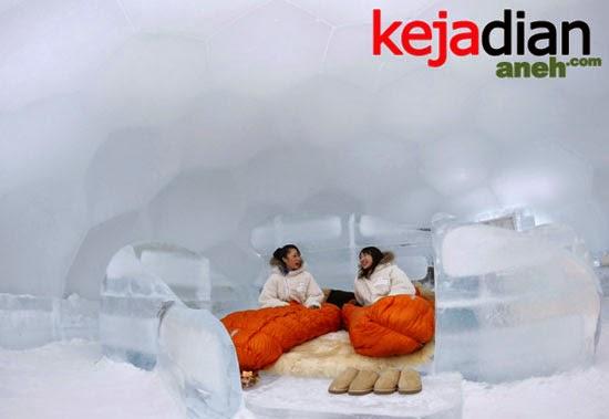 ice hotel of Hokkaido