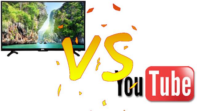 اليوتيوب يسحق التلفاز و القنوات التلفزية