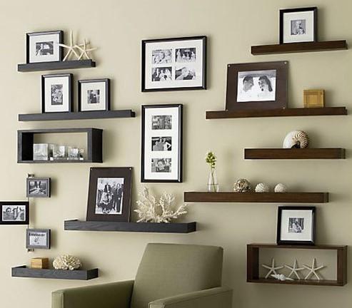 Hiasan Dinding Ruang Tamu Moden