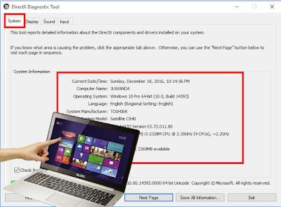 3 Cara Melihat Spesifikasi Laptop atau PC