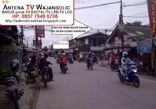 Jual ANTENA TV WAJANBOLIC  Ujung Harapan Bekasi