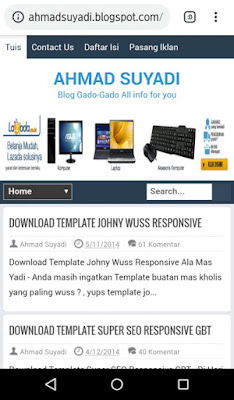 free Template Blog gratis