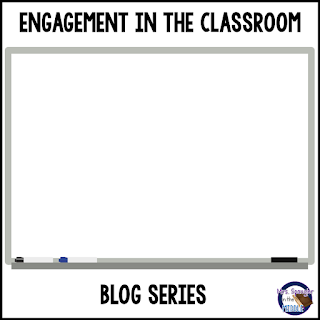 Engagement in the Classroom Blog Series begins October 24th!