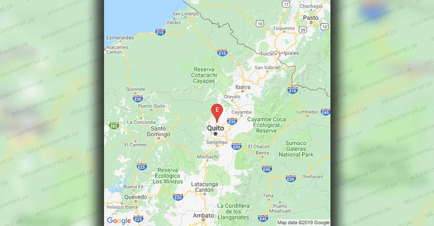 Temblor en Ecuador de Magnitud 3.5 (Hoy Miércoles 20 Marzo 2019) Sismo - Epicentro - Quito - Pichincha - IGEPN - www.igepn.edu.ec