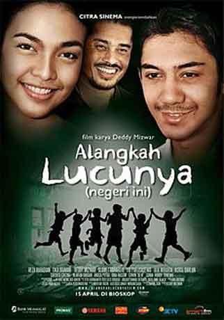 film motivasi indonesia alangkah lucunya negeri ini