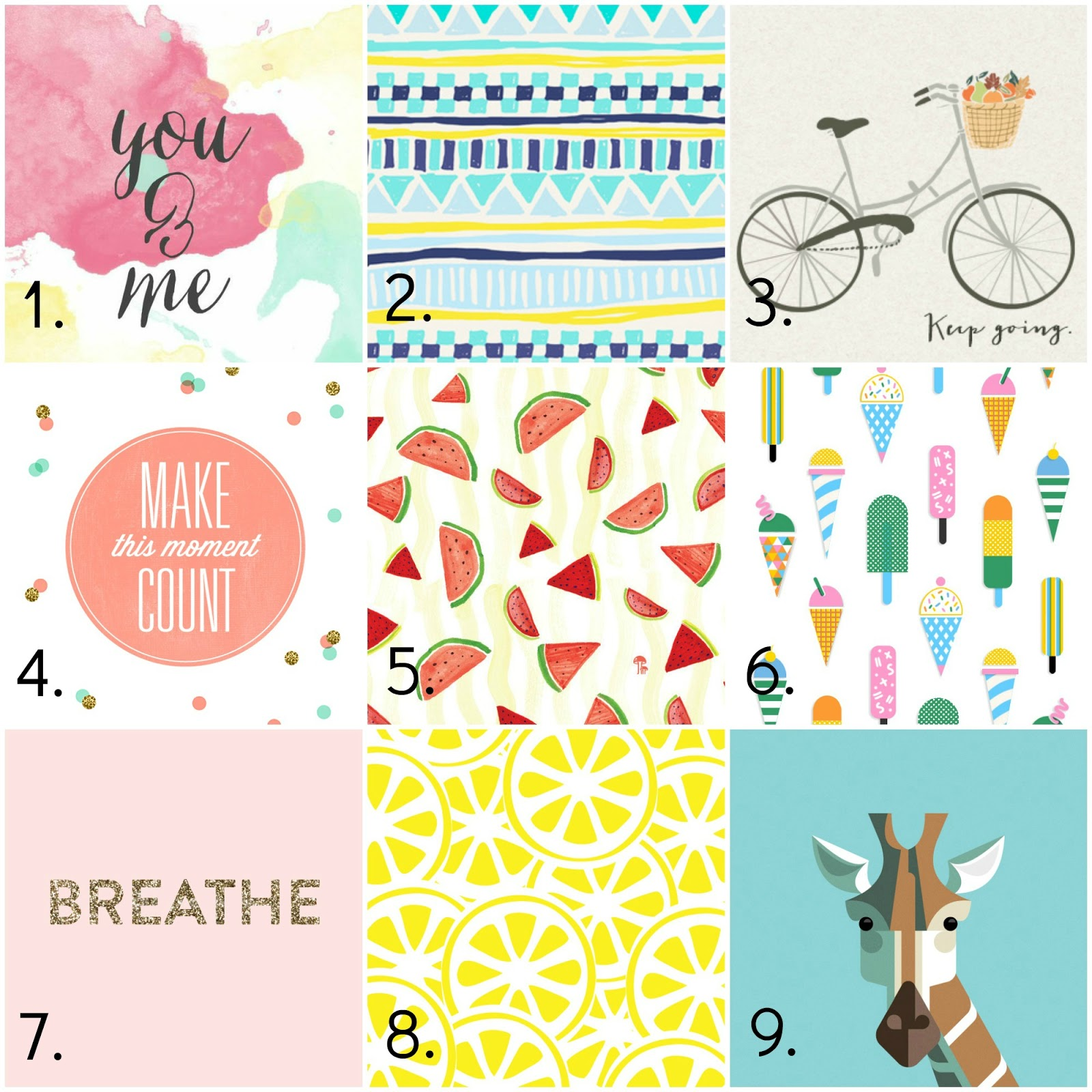 9 Free & Cute iPhone Wallpapers