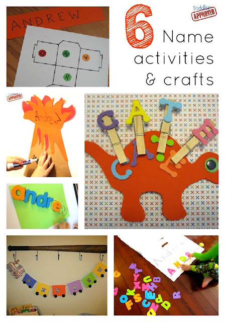 Teach Children their name with these fun activities