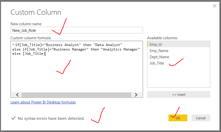 How to Add a Custom Column to a Table in Power BI | TAMATAM | SQL
