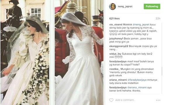 Meskipun Foto Candid, Namun Miripnya Pose Kate Middleton dan Lady Diana Ini Bikin Netizen Heran Sendiri!