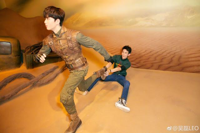 Wu Lei Madame Tussauds Li Cu Sand Sea