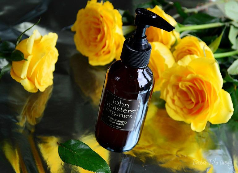 John Masters Organics Różany żel do mycia twarzy