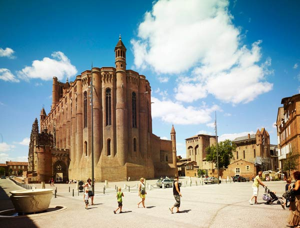 World Travel Places Albi Tarn France