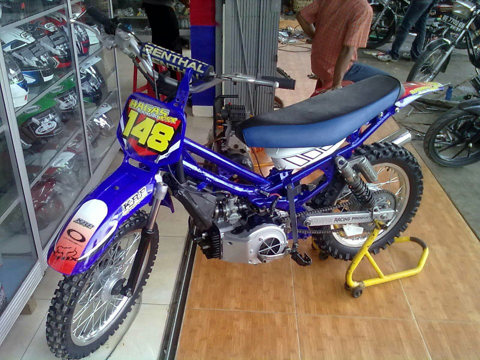 YAMAHA TRAIL FORCE 1 SOLO MODIFICATION