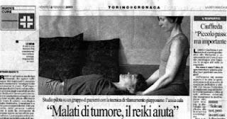 petizione reiki in ospedali italiani