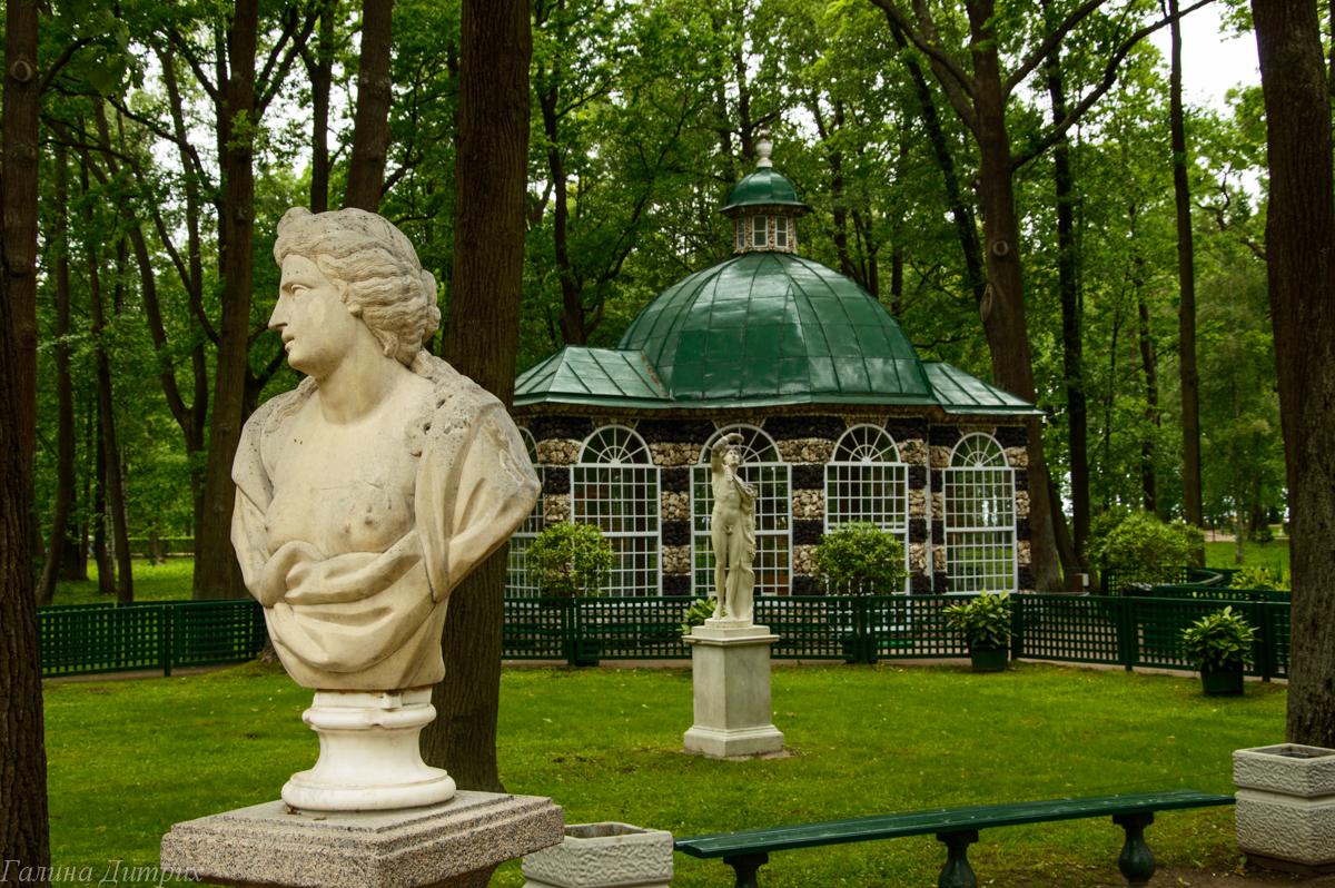 Нижний парк Петергоф беседка фото