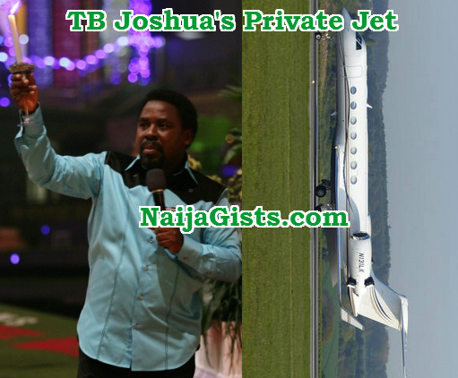 tb joshua private jet