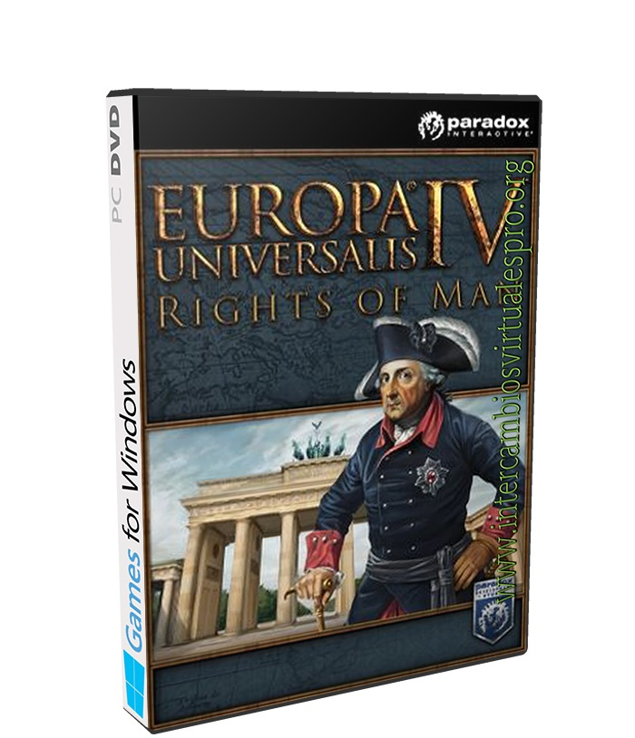 Europa Universalis IV Rights of Man poster box cover