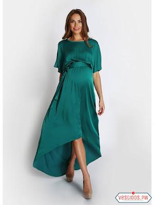 vestidos para embarazadas con botas