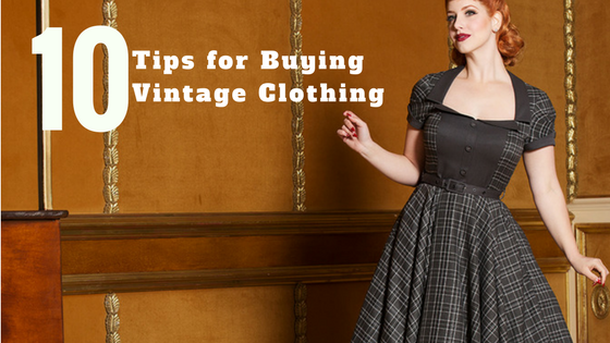 One Direction Clothing: 10 Tips for Buying Vintage Clothing