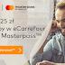 25 zł rabatu na zakupy w eCarrefour.pl z Masterpass