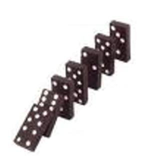 explain the domino theory and its relationship to containment