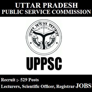 Uttar Pradesh Public Service Commission, UPPSC, UP, Uttar Pradesh, Graduation, Lecturer, Scientific Officer, Registrar, freejobalert, Sarkari Naukri, Latest Jobs, uppsc logo