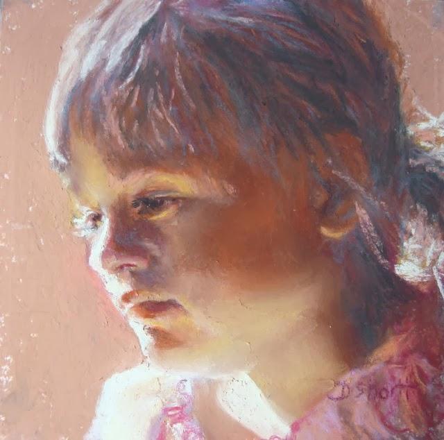Работы пастелью. Donna Shortt