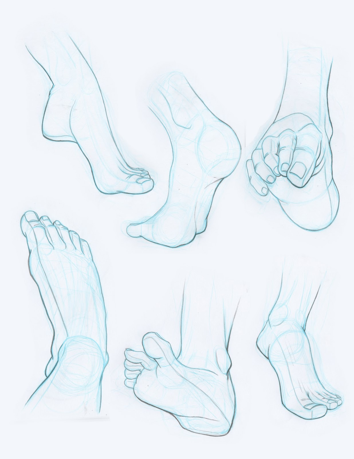 This is a photo of Fan Drawing On Feet
