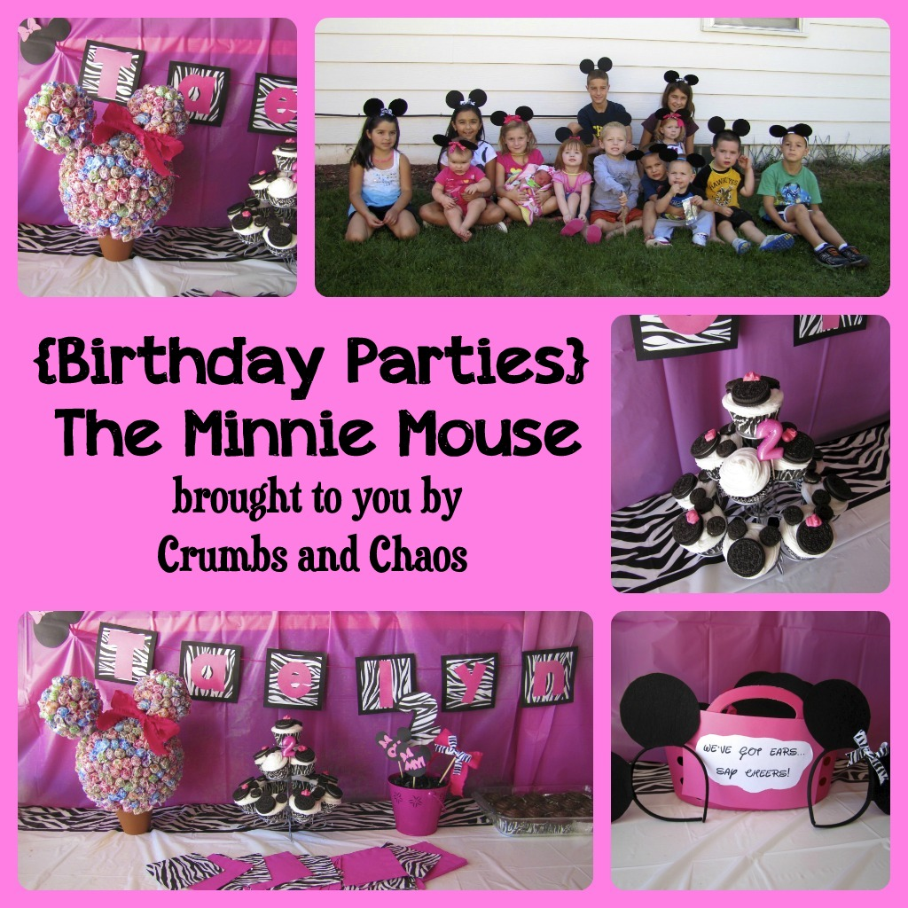 Minnie Mouse First Birthday Party Via Little Wish Parties: {Birthday Parties} The Minnie Mouse