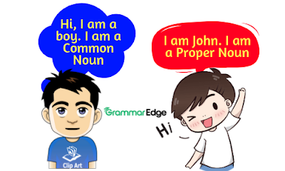 Difference between Common Nouns and Proper Nouns