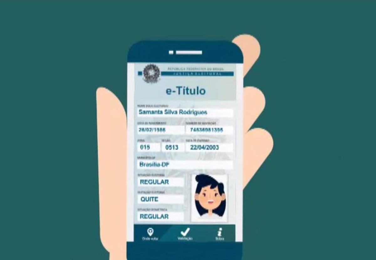TSE lança titulo de eleitor digital que poderá substituir o documento impresso no ato da votação.