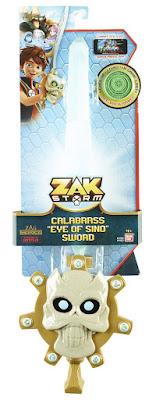 ZAK STORM - Espada Calabrass Ojo de Sino : Espada de Hielo   Bandai 2018   Serie Clan TV   COMPRAR JUGUETE - JOGUINES - TOYS  caja