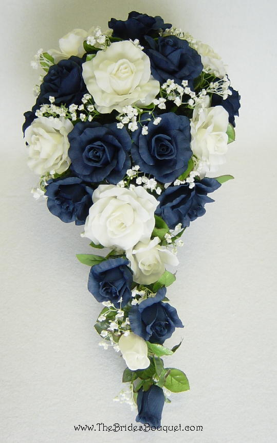 navy blue wedding flowers navy blue flowers for weddings www imgkid the 6124