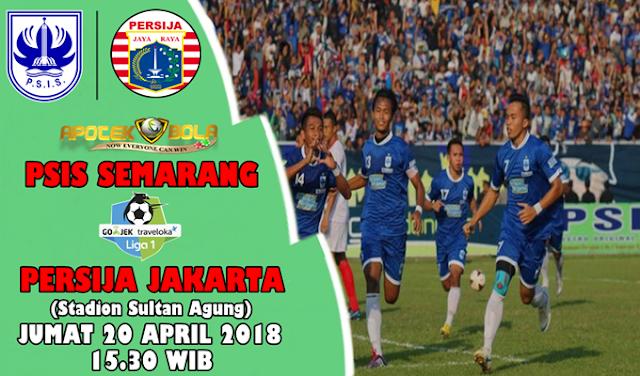 Prediksi PSIS Semarang vs Persija 20 April 2018