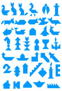 Figuras com tangram