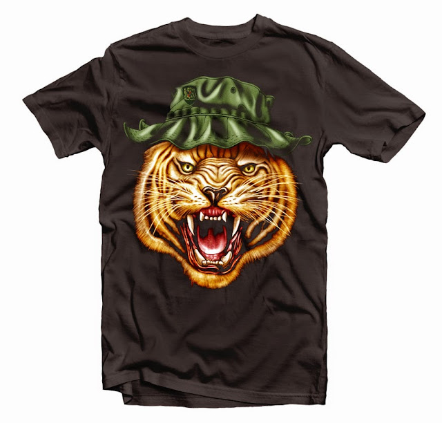tiger hat design