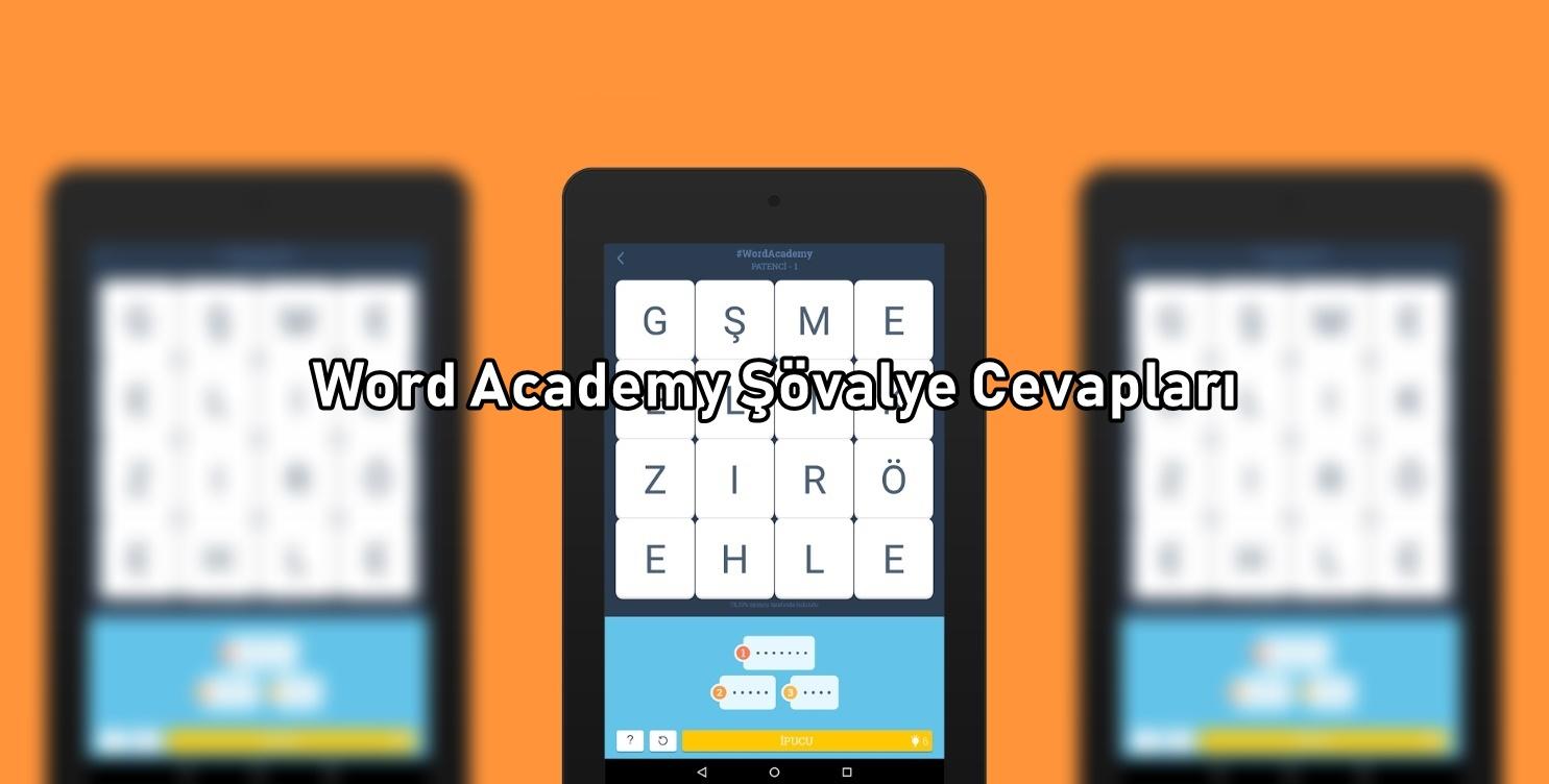 Word Academy Şövalye Cevaplari