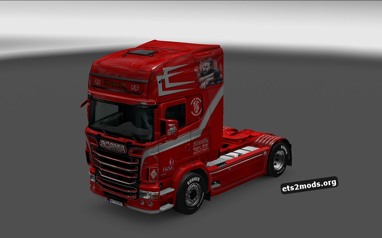 Weeda Skin for Scania RJL v 1.5.2.